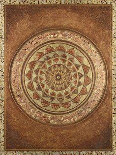 Golden Rectangle Mandala