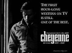Great photo Classic Tv, Classic Films, Cheyenne Bodie, James Drury, Clint Walker, Tv Westerns, Western Movies, Best Tv Shows, Good Looking Men