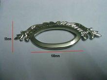 100 x 55 мм серебристого металла кошелек ручка никель сумка прокладки заклепки 30 шт./лот(China (Mainland))