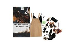 """""""at least"""" by greenisthenewgirl ❤ liked on Polyvore featuring WALL, Ray-Ban, Daniel Wellington, Riedel and Topshop"""