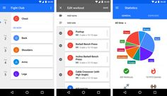 5 Best Fitness Apps for Android Wear Smartwatches - Hongkiat Android Wear, Android Apps, Fight Club, Bench Press, Barbell, Stay Fit, Biceps, Fun Workouts, Push Up