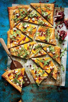 Pear-and-Pumpkin Tart | Take advantage of the seasonal bounty of squash, beets, and apples with these fall farm-to-table recipes.
