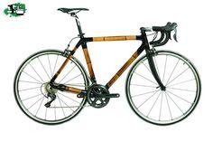 Bicicleta Malón de bambú y carbono. Full Ultegra, horquilla carbono, componentes PRO Vibe, llantas U