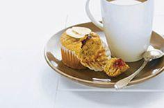 Peanut butter & Banana Surprise muffins