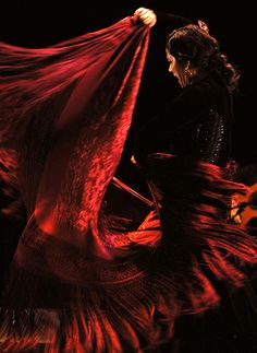 Spanish flamenco dancer Eva Yerbabuena performs in Bangalore, India, on 6 November 2012.