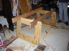 Diy Workbenches Sawhorses Workstations On Pinterest