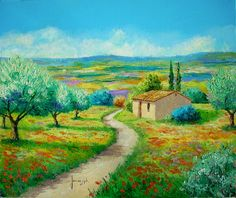 French artist Jean Marc Janiaczyk The Garden of Olives