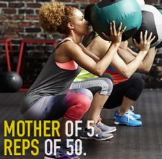 Mother of 5. Reps of 50. A part of the DICK'S Sporting Goods #STRONGMOM Contest.