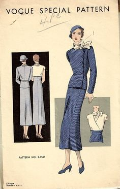 Vogue Special Pattern S-3561