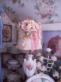 a lampshade for the romantic
