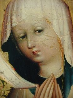 "AUTRICHE 15e - La Vierge à l'Enfant à l'Ecritoire (Louvre) - Detail 025  -  TAGS/ details détail détails detalles painting peintures ""peinture 15e"" ""15th-century paintings"" people Virgin Madonna Madone ""Holy Spirit"" ""Esprit saint"" people woman women ""jeune femme"" ange angel pose model portrait portraits face faces visage femme Jésus Jesus boy ""little boy"" Child ""little boy"" ""petit garçon"" portrait kid kids trône throne Museum Paris Austria ""writing box"" ""Moyen Âge"" ""Middle age"" lesson leçon"