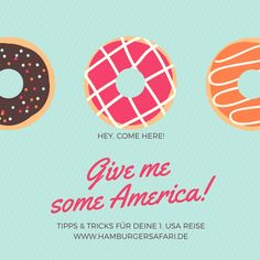 """Das erste Mal nach Amerika? Wundervoll! Was soll ich einpacken? Wie überstehe ich den langen Flug? Wie wird die Immigration ablaufen? In dem Buch: """"Hamburger safari Tipps & Tricks für deine 1.USA Reise"""" erfährst du es und noch viele mehr. Der USA-Urlaub kann kommen :-)  www.hamburgersafari.de #usa #usareise #amerika #urlaub #reiseführer"""
