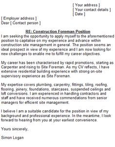 Cover Letter For Job Within Same Company