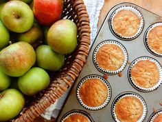 An abundance of apples from Lucy's tree in her garden means apple cake! Lucy used a Peyton Byrne recipe.
