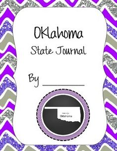 This is a state themed journal set that includes a state themed cover, a state themed journal writing page and a page for adding pictures, or drawings. This makes for a nice way for students to write about what it is like growing up in their state, or to write about their state.