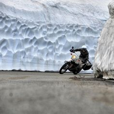 #Motorcycle Riding in the cold