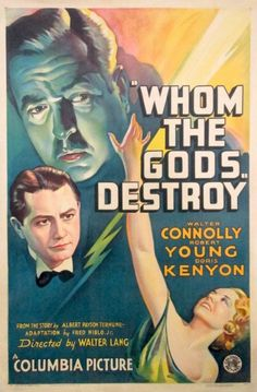 Whom the Gods Destroy (1934) - IMDb