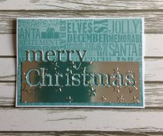memory box christmas die cards | Share