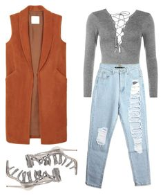 """Untitled #112"" by marc-anthony ❤ liked on Polyvore featuring MANGO, WearAll and Monika Chiang"