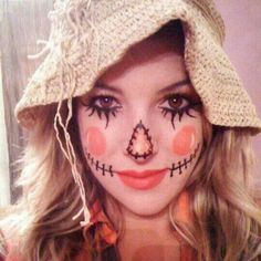 "DIY Halloween Costume Ideas - My Honeys Place..cute - get your makeup and ""stuff"" at:  HalloweenMarketplace.com"