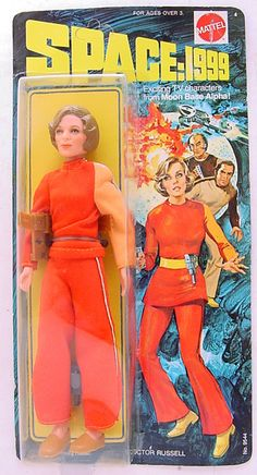 Action figure of Barbara Bain / Doctor Helena Russell from Space:1999 by Mattel