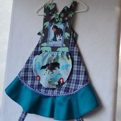 Merida The Brave Toddler Dirndl Apron Dress Size 1 by TwinsFromOz
