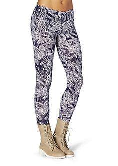 Girls Printed, Patterned & Color Leggings | rue21