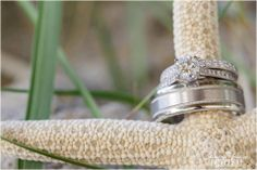 A stunning combination of rings! #BridesToBe #CoastDiamond #SheSaidYes | www.goldcasters.com