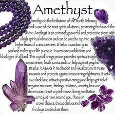Amethyst metaphysical properties