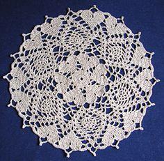 Ravelry: Hearts Doily pattern by Cylinda Mathews