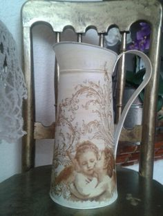 Jarra metálica vintage