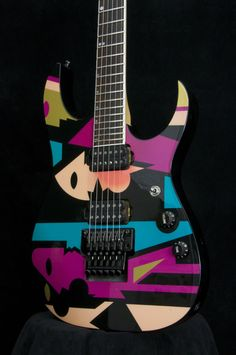 Ibanez JPM100 discontinued John Petrucci signature. Was one of its kind for sure, amazing guitar.