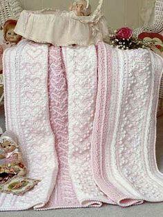 Free Crochet Pattern: Heart Strings Baby Blanket