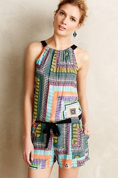 Bachata Romper - anthropologie.com #anthroregistry