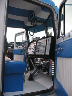 Show truck interior