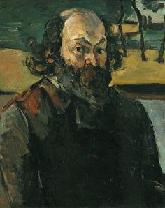 Paul Cézanne - self-portrait