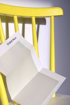 Briefbogen –Studio Pala   Slanted - Typo Weblog und Magazin