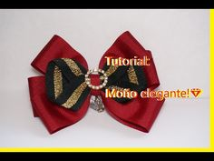 FACIL MOñO COLETERO HECHO CON MOLDE DE CARTON Paso a Paso PONYTAIL HAIR BOW Tutorial DIY How To PAP - YouTube