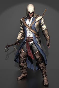 Assassin's Creed 3 - Connor Kenway by IshikaHiruma on deviantART