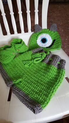 Juego de bebé a crochet