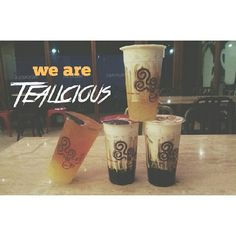 Our Bubble Tea is not just Tea- It is -Tealicious