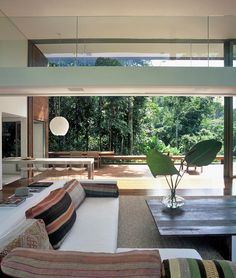 Carved out of the Brazilian jungle of Iporanga, Sao Paulo, Brazil, this beautiful tropical house designed by Architect Arthur Casas is his own dream home.