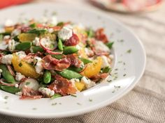 Get Snap Pea, Orange and Radish Salad Recipe from Food Network