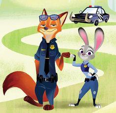 Judy and Nick