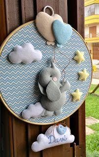Baby Boy Room Decor, Baby Room Diy, Baby Boy Rooms, Baby Boy Nurseries, Easy Crafts To Sell, Felt Crafts Diy, Baby Crafts, Baby Applique, Diy Bebe