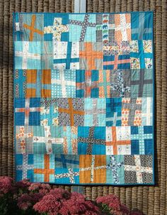 baby cross quilt by Anne@surelynotanotherproject (mianni2010), via Flickr