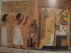 """Il    """"LIBRO dei  MORTI"""" degli Antichi Egizi"""