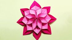 27 Inspired Photo of Paper Origami Flowers . Paper Origami Flowers Unique Flower In Origami Style 3 Modifications Of Paper Flower For Super EASY Origami flower for beginners . DIY paper flower for wall and room decoration. Music - Bounce Ball the authour Origami Flower Bouquet, Paper Origami Flowers, Origami Lotus Flower, Origami Flowers Tutorial, Easy Paper Flowers, Origami Rose, Origami Hearts, Origami Instructions, Flower Paper
