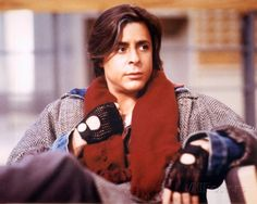 Judd Nelson: Sexy rolled sleeves and layering right this way...