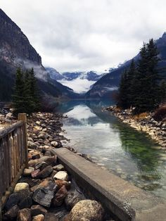 Lake Louise, Banff, Alberta. Just one a many stunning sites to see in Canada.